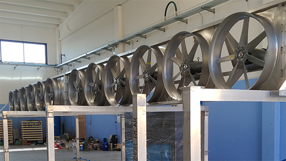 Equipment for Existing Drying Rooms